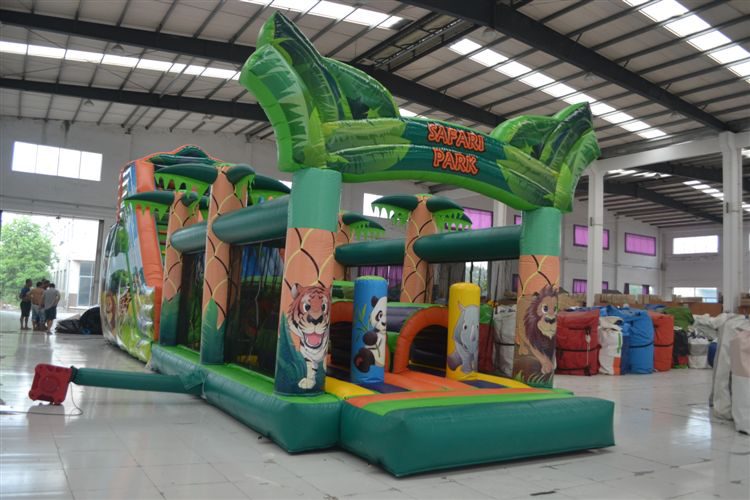 corporate events bouncy castles